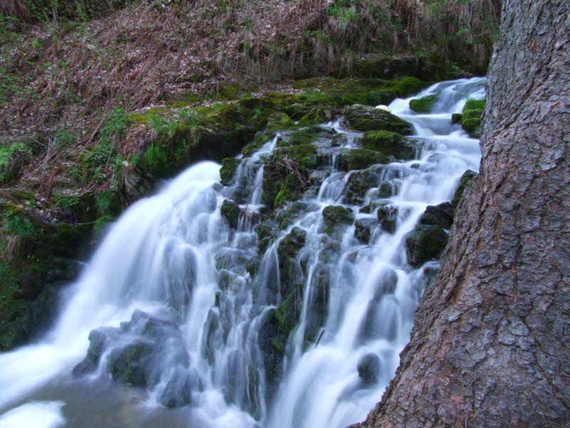 Zlatomlýnský vodopád